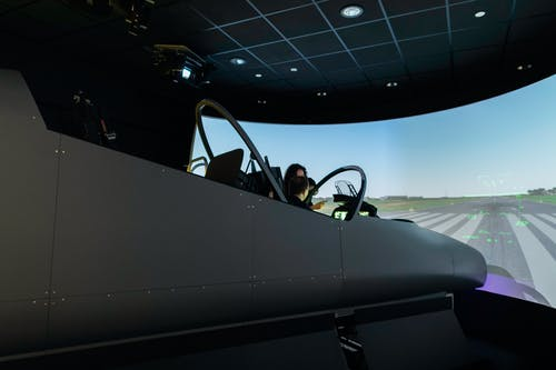Engineer in Flight Simulator