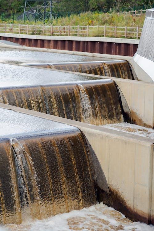 Weir Over River