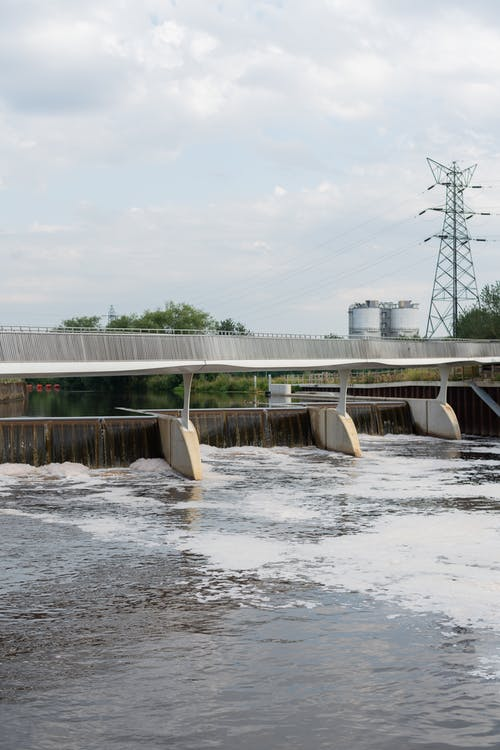 Weir Over River