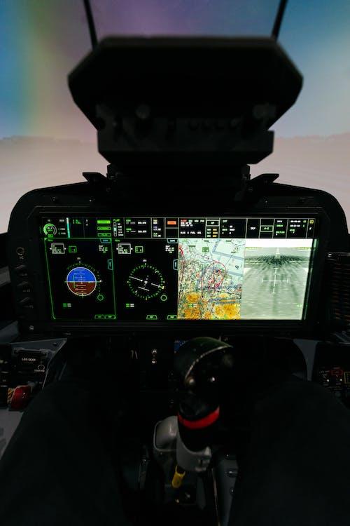 Flight Simulator on Screen