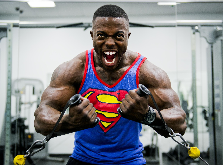 Kostenloses Stock Foto zu athlet, bizeps, bodybuilder, bodybuilding