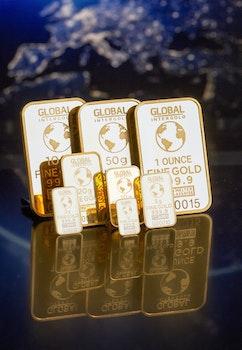 Free stock photo of luxury, reflection, logo, gold