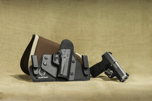 Free stock photo of weapon, gun, Pistol, holster