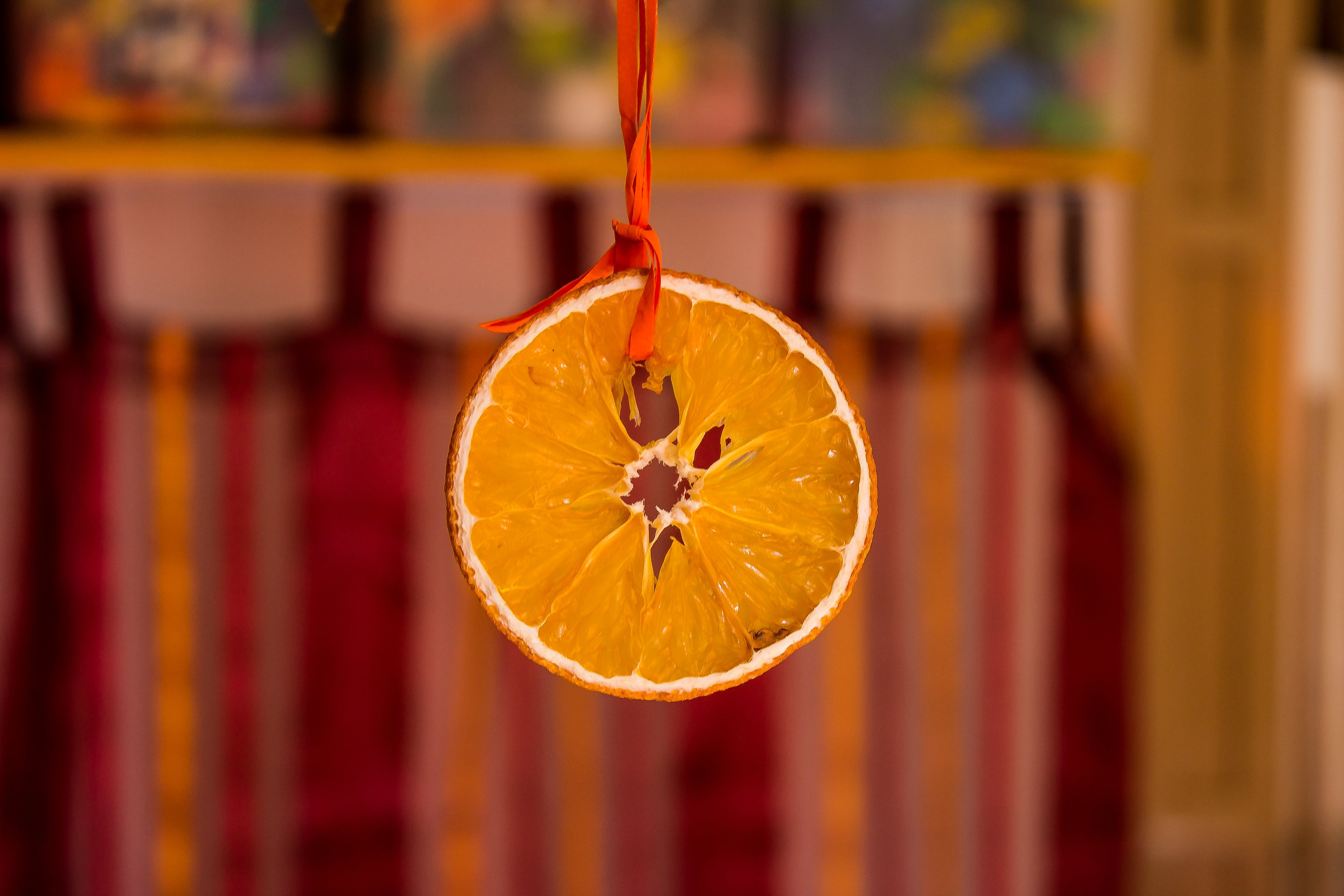 Orange Fruit Hanging
