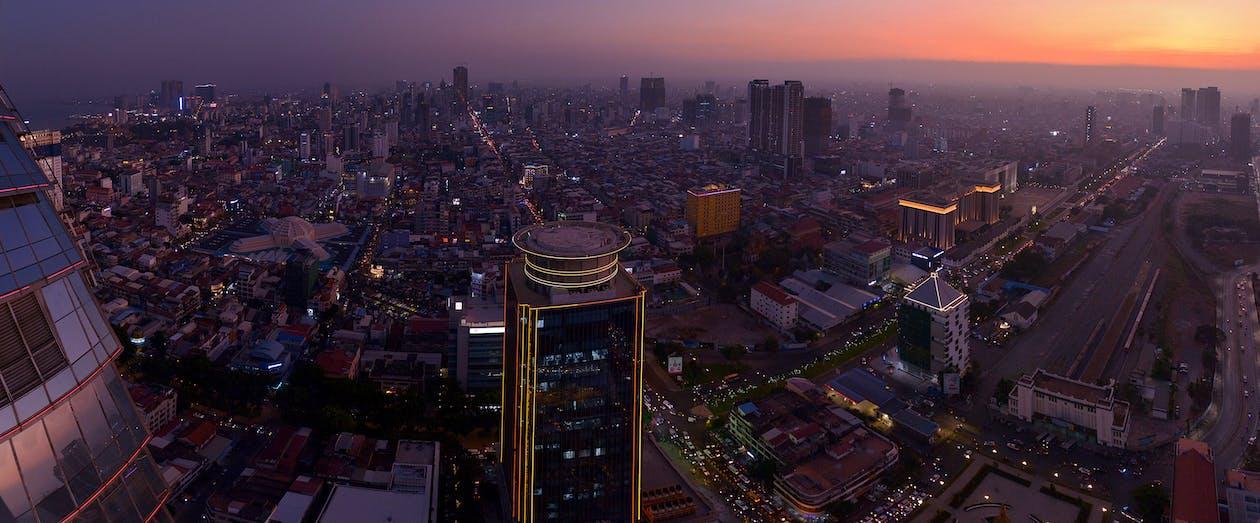 Phnom Pehn, Camboya, ciudad, capital