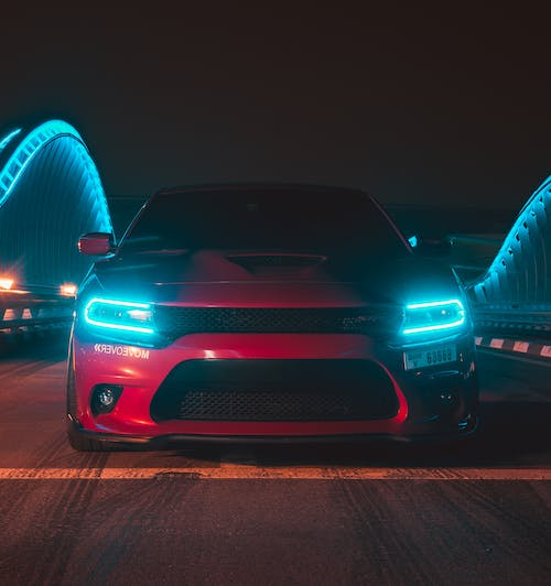 Free stock photo of 707hp, American Muscle, charger srt, dodge