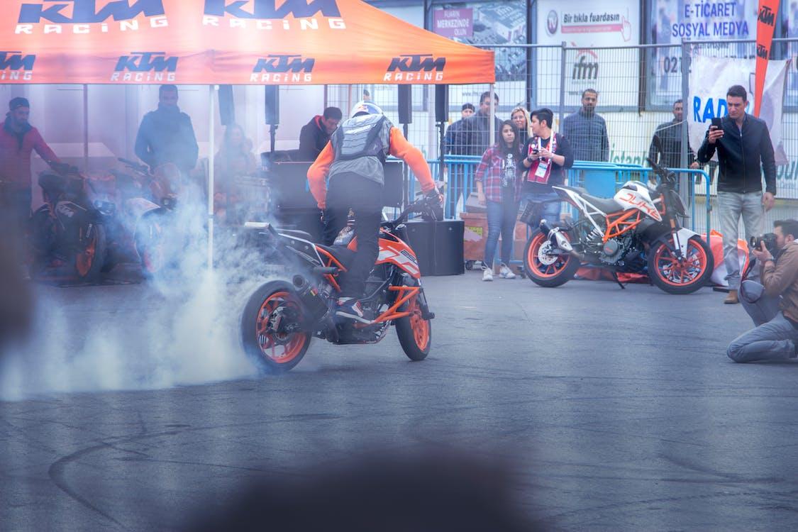 Δωρεάν στοκ φωτογραφιών με extreme sport, ktm, motocross