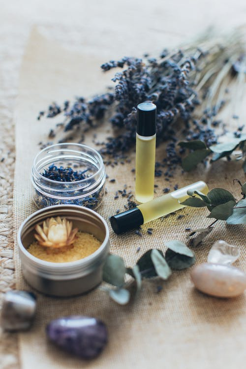 Lavender and Massage Oils