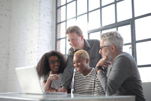 คลังภาพถ่ายฟรี ของ กลุ่ม, การติดต่อ, การทำงานเป็นทีม, การประชุม