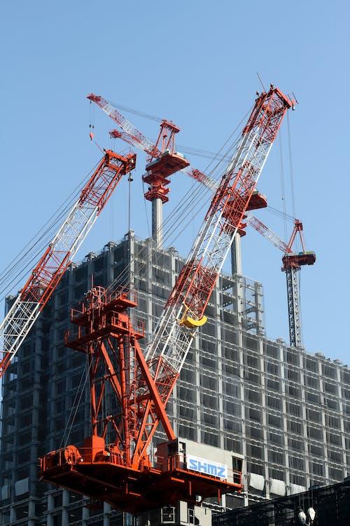 Gratis lagerfoto af arbejde der er i gang, arkitektur, byggeplads, byggeri