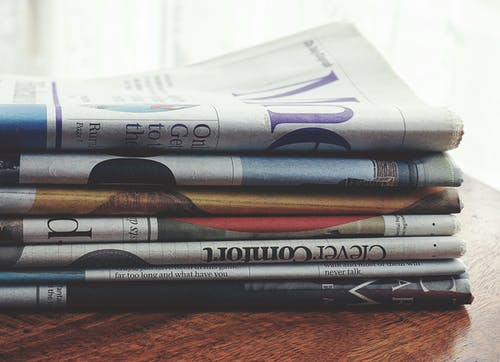 뉴스, 종이의 무료 스톡 사진