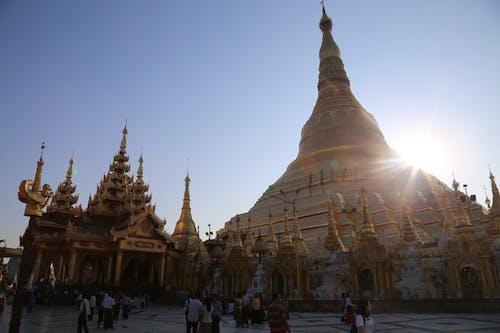 Free stock photo of birmanie, burma, gold