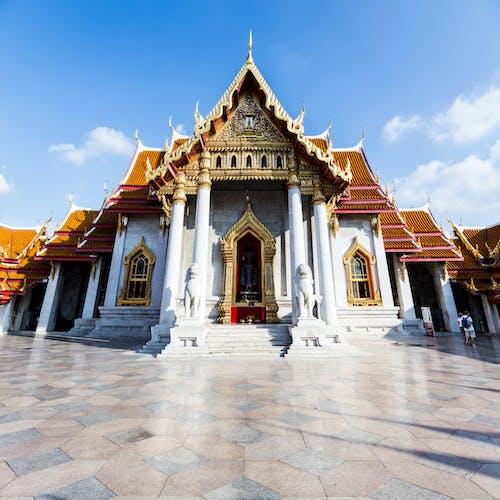 Free stock photo of bangkok, beautiful temple, blue sky