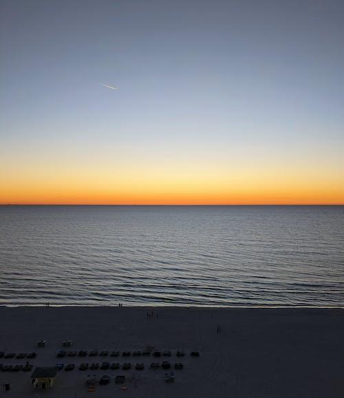 Free stock photo of beach, colors, florida, skies