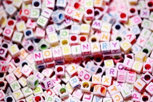 Nahaufnahme Von Buchstabenperlen