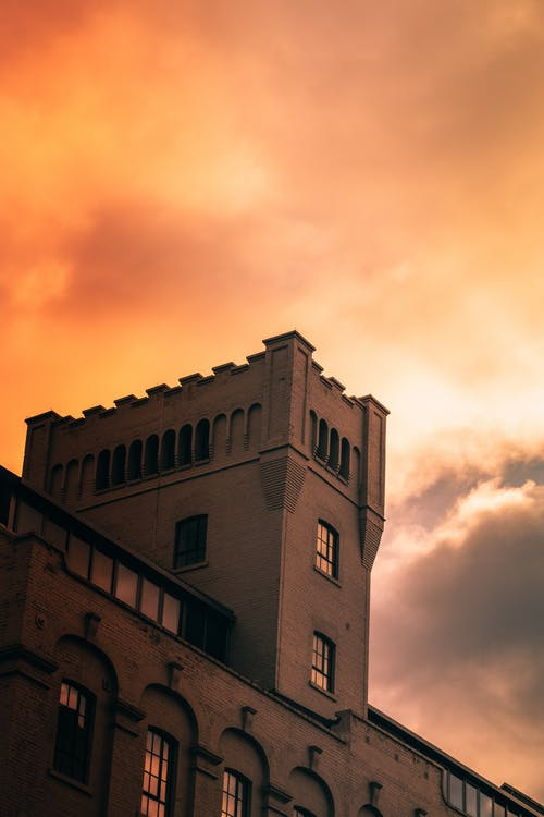 Free stock photo of building, castle, moody