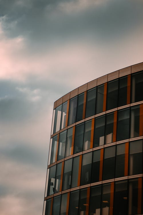 Free stock photo of building, clouds, office