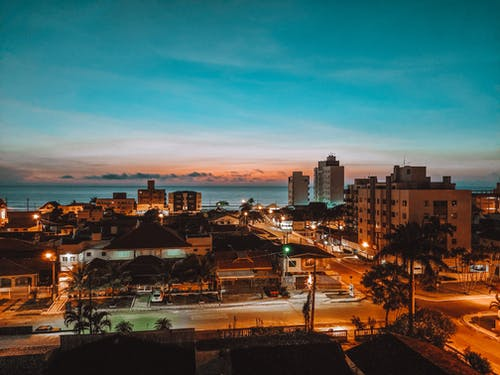 Photo Of Town During Dawn