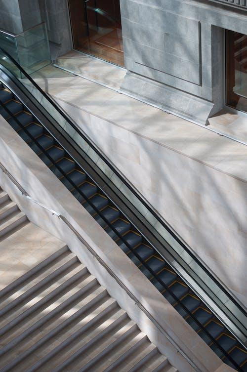 Free stock photo of downstairs, elevator, singapore, stairs