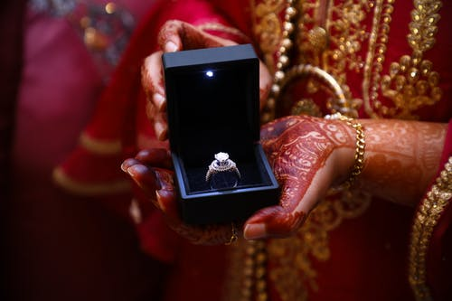 Photo Of Person Holding Box With Ring