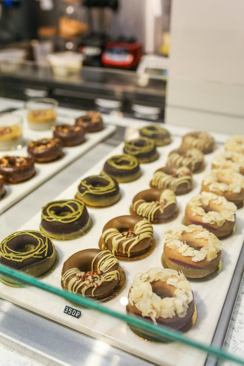 Photo Of Donuts On White Tray