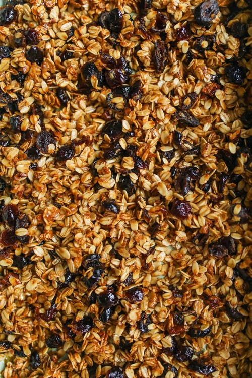 Photo Of Granola Seeds With Raisins