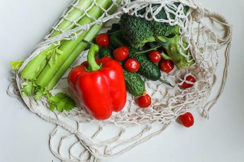 Ilmainen kuvapankkikuva tunnisteilla ainesosat, chilipippuri, eloisa, parsakaali