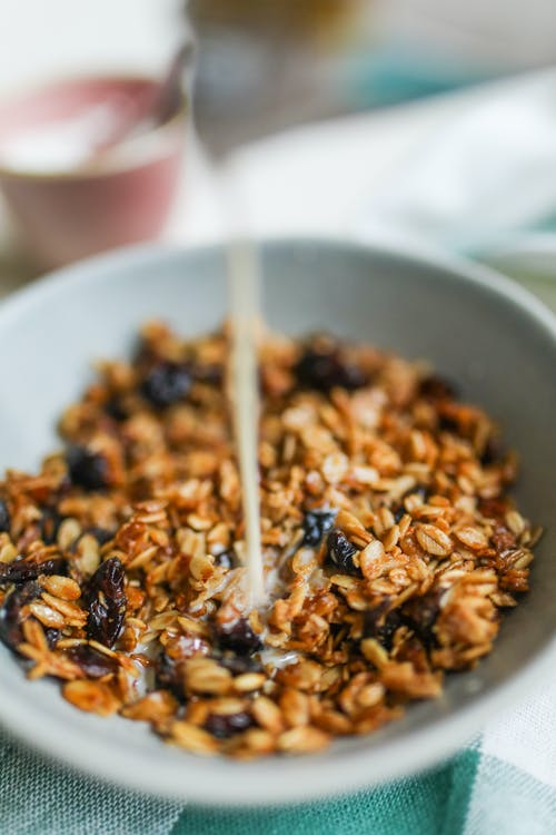 Photo Of Granola On Bowl