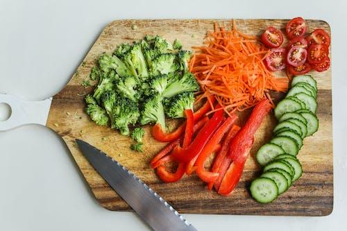 健康, 刀, 小黃瓜, 成分 的 免費圖庫相片