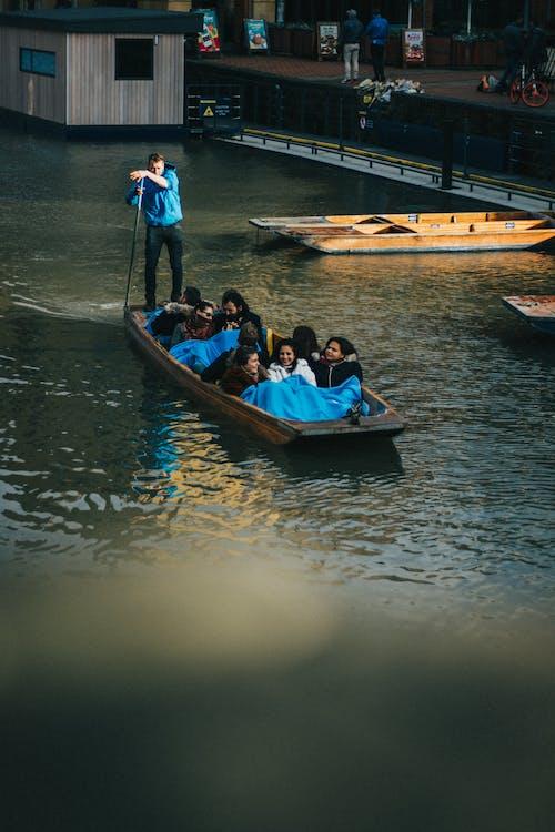 Free stock photo of boat, cambridge, cannoe