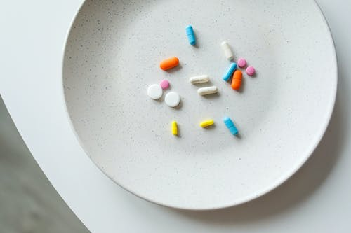 Photo Of Medicines On Plate