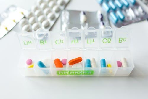 Imagine de stoc gratuită din capsule, comprimate, container, farmaceutic
