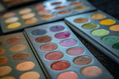 Close Up Photo of Eyeshadow Palette