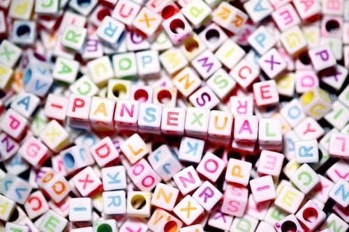 Bunte Buchstaben Auf Buchstabenperlen