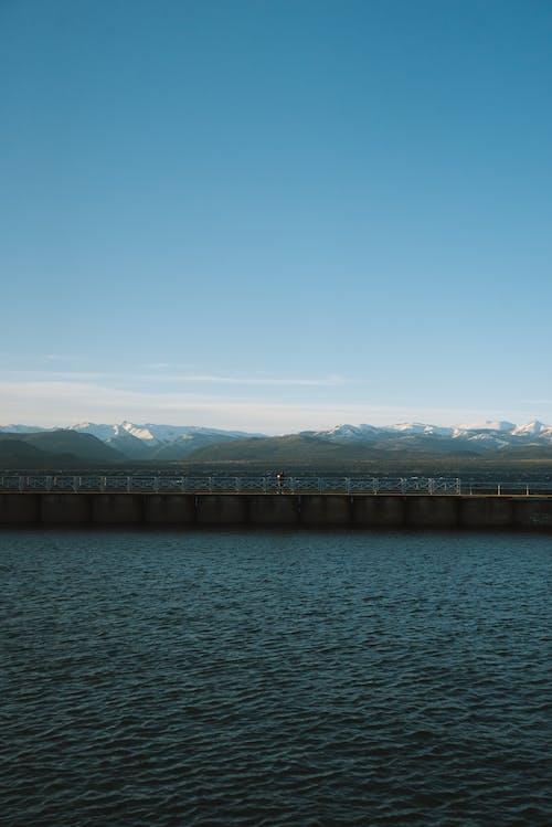 Ingyenes stockfotó fény, folyó, hajnal, híd témában
