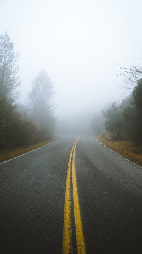 Základová fotografie zdarma na téma asfalt, barevný, čára, denní světlo