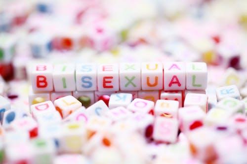 Kostenloses Stock Foto zu alphabet, bisexualität, bisexuell, briefe