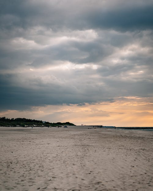 Free stock photo of afternoon, Baltic, beach, clouds