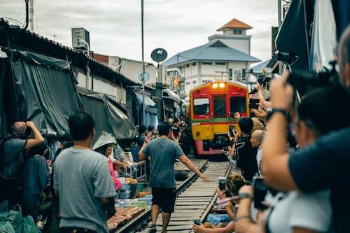 交通系統, 人, 人群, 公車 的 免費圖庫相片