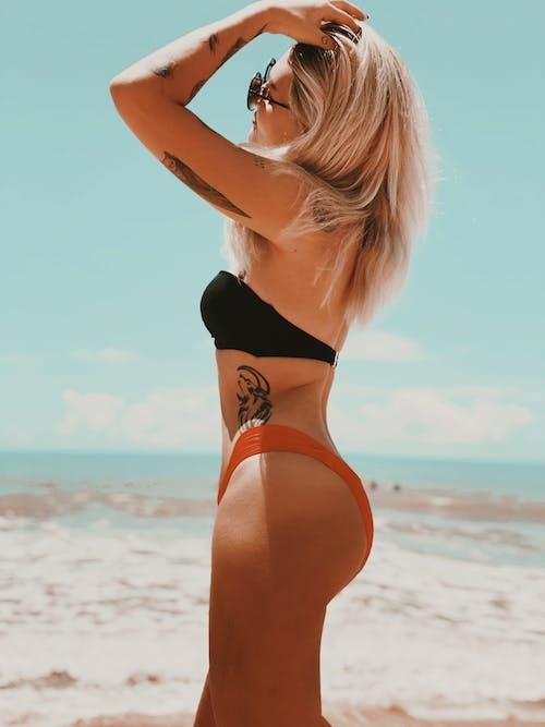 Ảnh lưu trữ miễn phí về biển, bikini, bờ biển