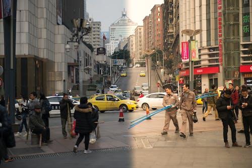 Fotobanka sbezplatnými fotkami na tému ľudia, mesto, slnečný svit, život vmeste