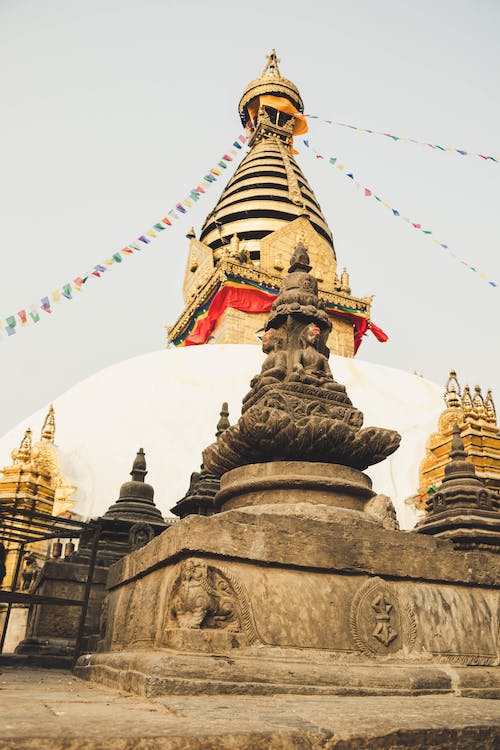 Free stock photo of golden, swayambhunath, temple