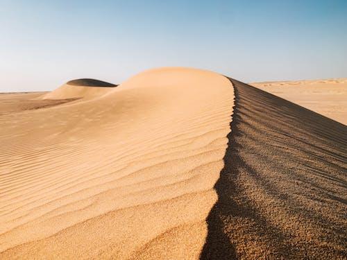 Foto stok gratis bukit pasir, gersang, gurun, gurun pasir