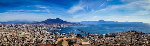 Free stock photo of italy, mediterranean, napoli, panorama