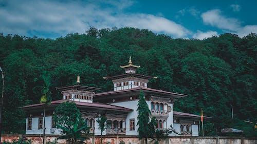Free stock photo of Bhutan, blue mountains, Mountain Travel, nature
