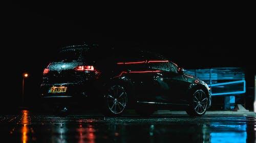Immagine gratuita di auto, azzurro, bordo, golf volkswagen