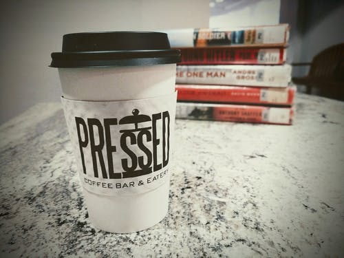 Free stock photo of books, coffe, coffe time