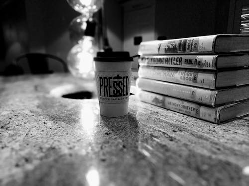 Free stock photo of book, books, coffe time
