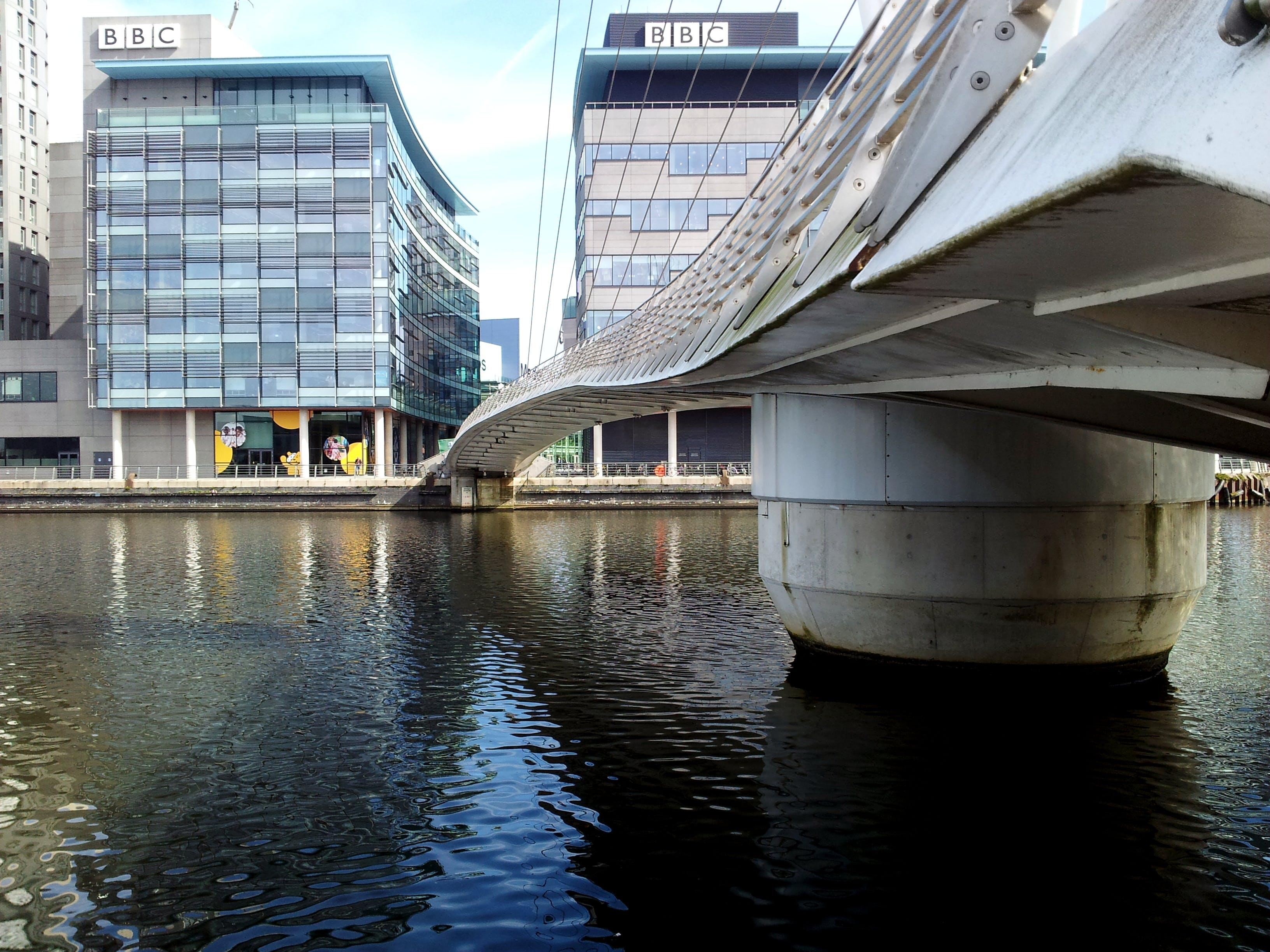 Concrete Bridge Beside Building