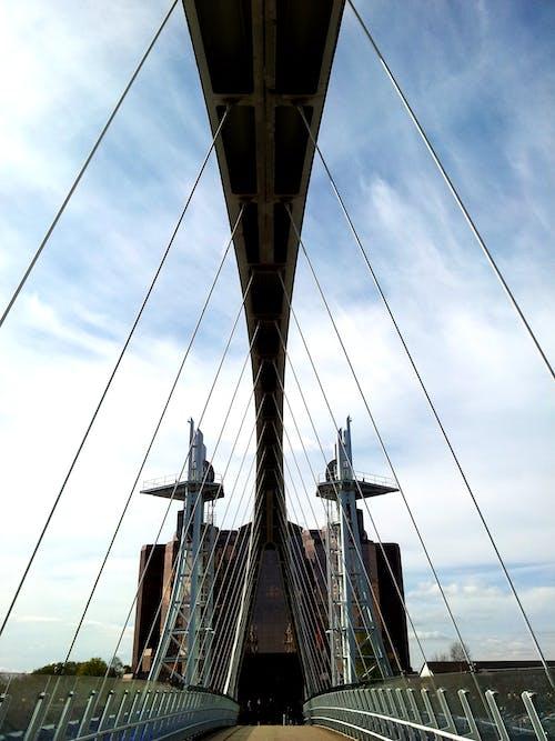 คลังภาพถ่ายฟรี ของ ช่วงล่าง, สถาปัตยกรรม, สะพาน, สะพานแขวน